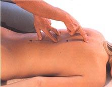 движение рук - массаж спины