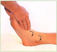 массаж ступней - стоп
